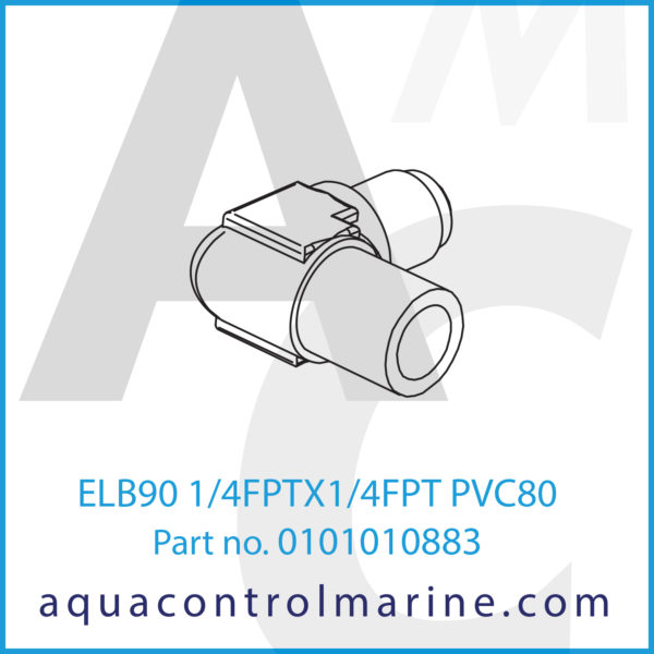 0101010883 - ELB90 1_4FPTX1_4FPT PVC80