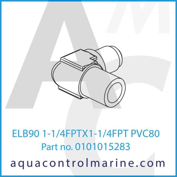 ELB90 1-1_4FPTX1-1_4FPT PVC80