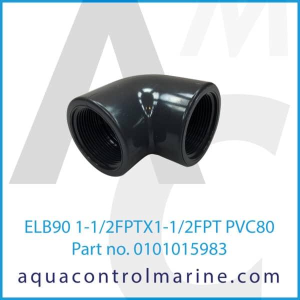 ELB90 1-1_2FPTX1-1_2FPT PVC80
