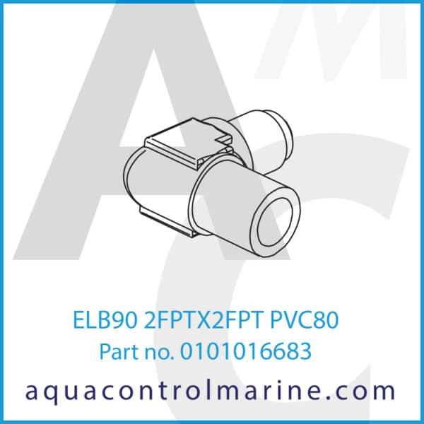 ELB90 2FPTX2FPT PVC80