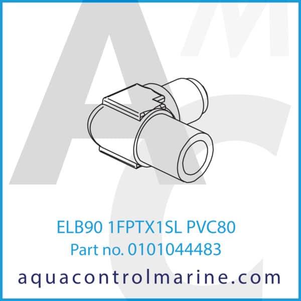 ELB90 1FPTX1SL PVC80