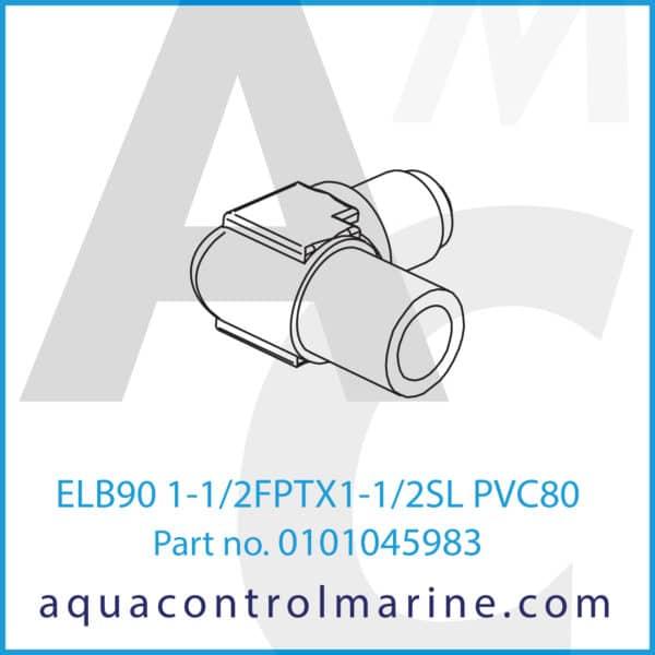 ELB90 1-1_2FPTX1-1_2SL PVC80