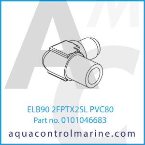 ELB90 2FPTX2SL PVC80