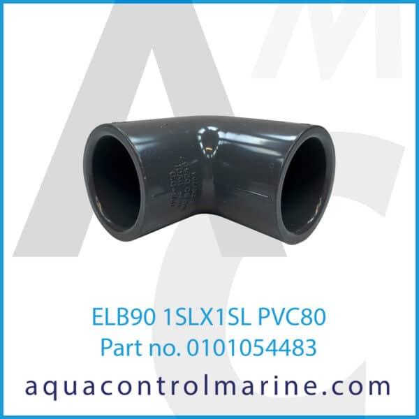 ELB90 1SLX1SL PVC80