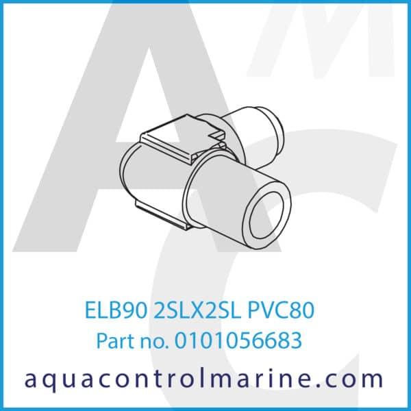 ELB90 2SLX2SL PVC80