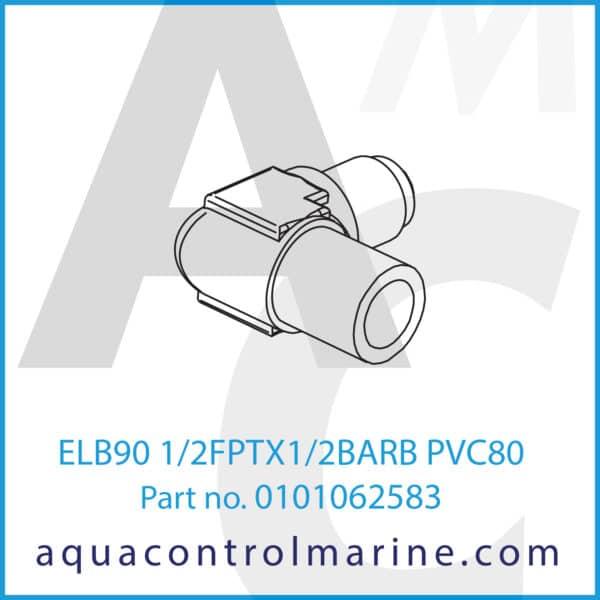 ELB90 1_2FPTX1_2BARB PVC80