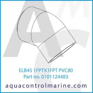 ELB45 1FPTX1FPT PVC80