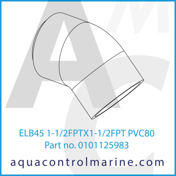 ELB45 1-1_2FPTX1-1_2FPT PVC80