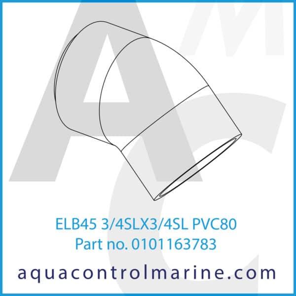 ELB45 3_4SLX3_4SL PVC80