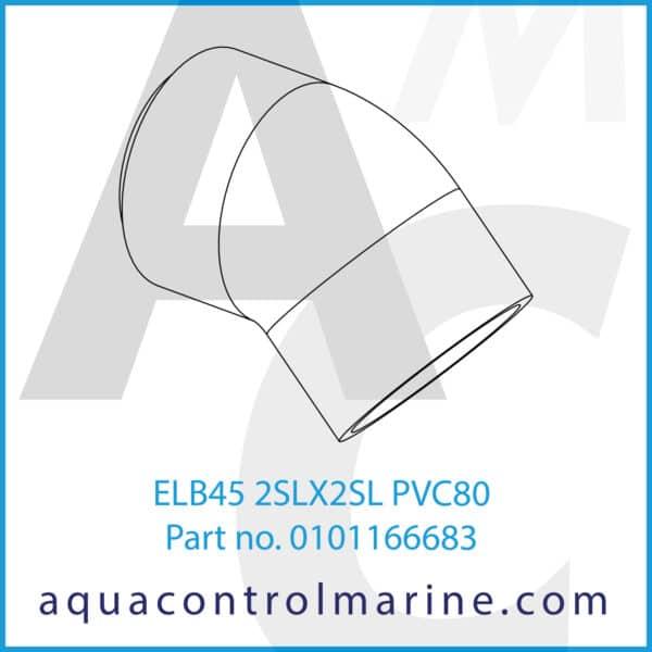 ELB45 2SLX2SL PVC80