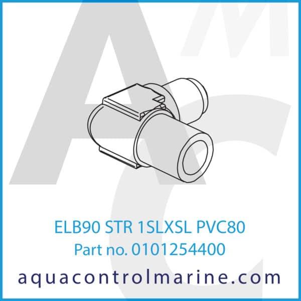ELB90 STR 1SLXSL PVC80