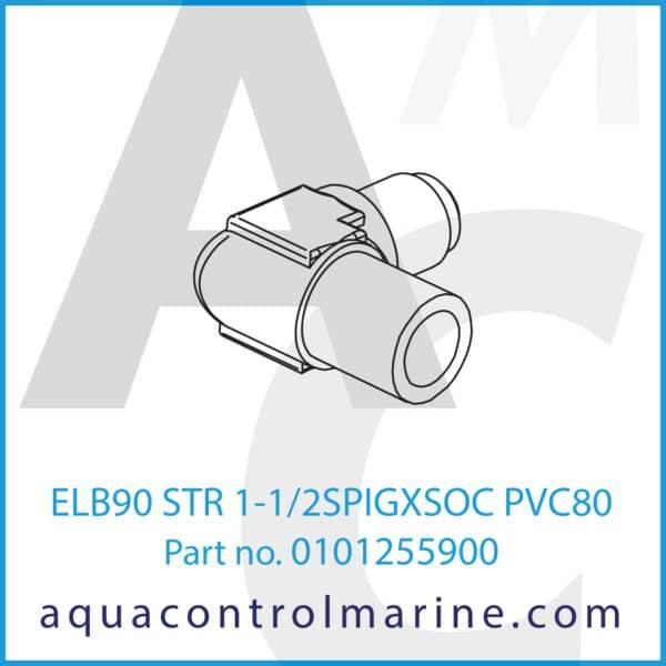 ELB90 STR 1-1_2SPIGXSOC PVC80