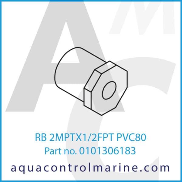 RB 2MPTX1-2FPT PVC80