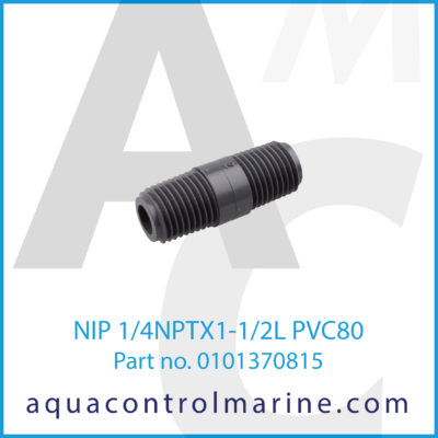 NIP 1/4 NPT X 1-1/2 L PVC80