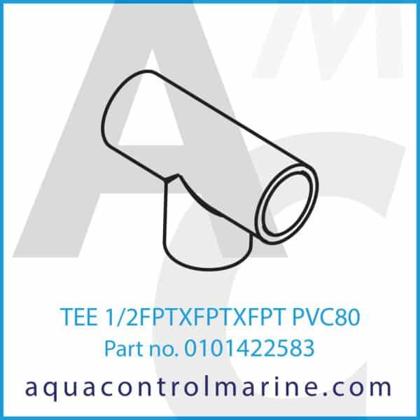 TEE 1_2FPTXFPTXFPT PVC80