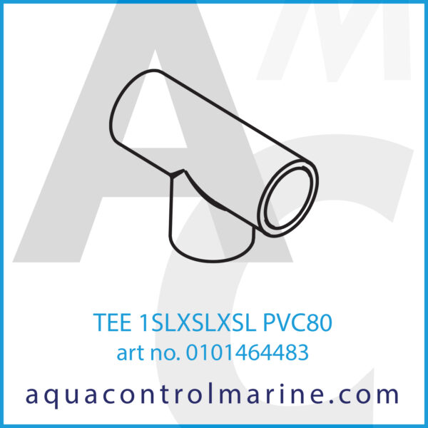 TEE 1SLXSLXSL PVC80