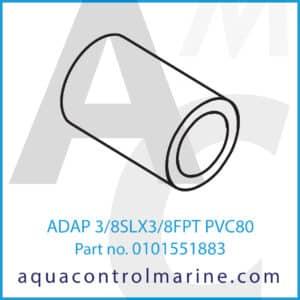 ADAP 3_8SLX3_8FPT PVC80