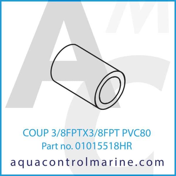 COUP 3_8FPTX3_8FPT PVC80