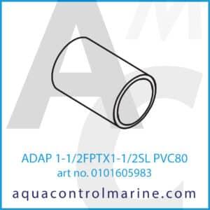 ADAP 1-1_2FPTX1-1_2SL PVC80