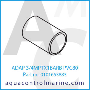 ADAP 3_4MPTX1BARB PVC80
