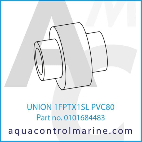 UNION 1FPTX1SL PVC80