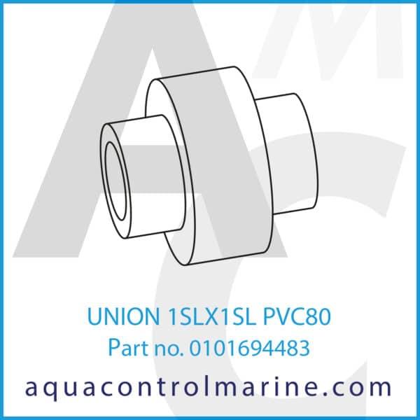 UNION 1SLX1SL PVC80