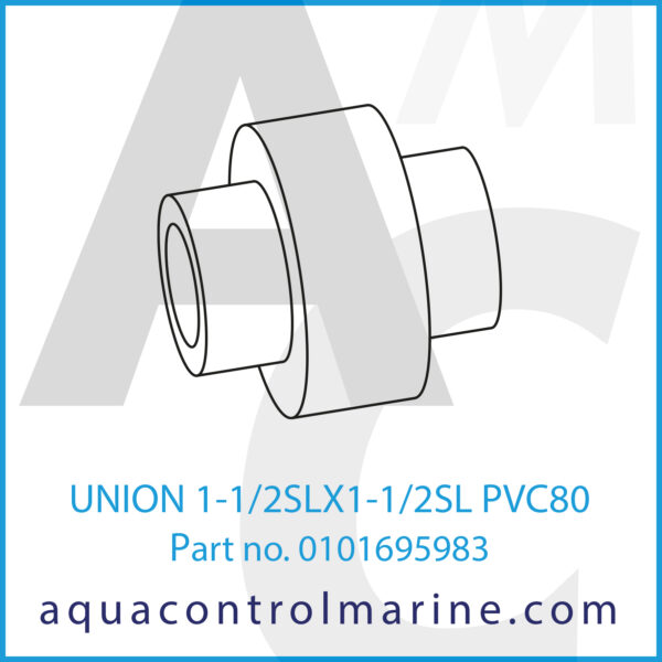 UNION 1-1_2SLX1-1_2SL PVC80