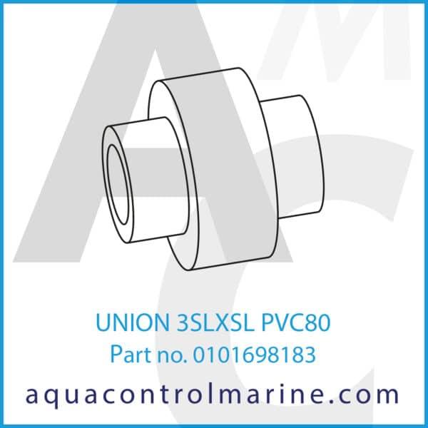 UNION 3SLXSL PVC80