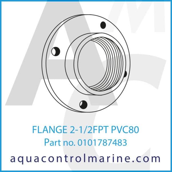 FLANGE 2-1_2FPT PVC80