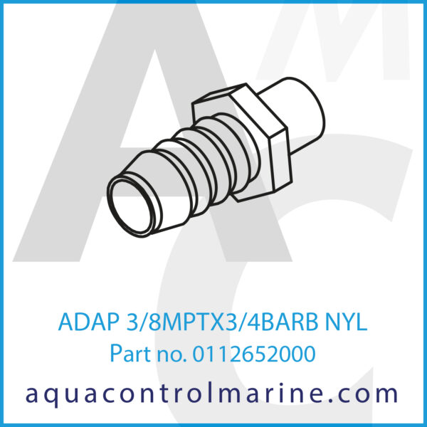 ADAP 3_8MPTX3_4BARB NYL