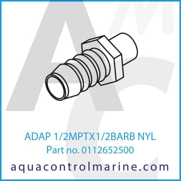 ADAP 1_2MPTX1_2BARB NYL