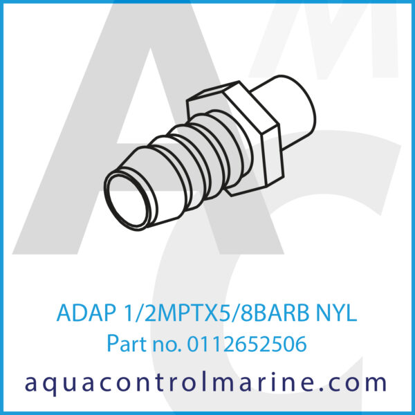 ADAP 1_2MPTX5_8BARB NYL