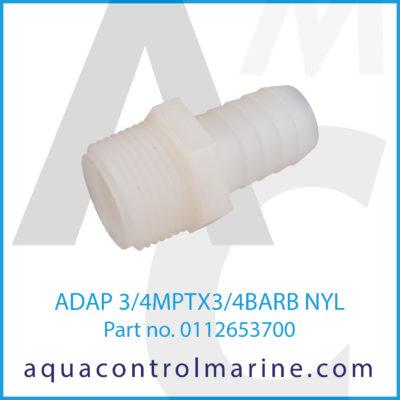 ADAP 3/4MPTX3/4BARB NYL