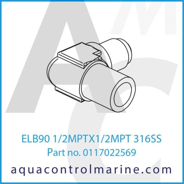 ELB90 1_2MPTX1_2MPT 316SS