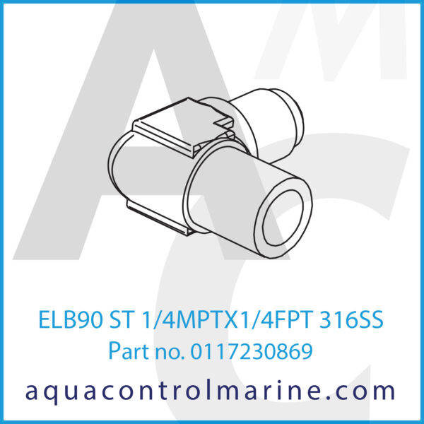 ELB90 ST 1_4MPTX1_4FPT 316SS