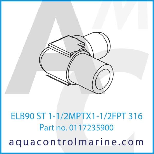ELB90 ST 1-1_2MPTX1-1_2FPT 316