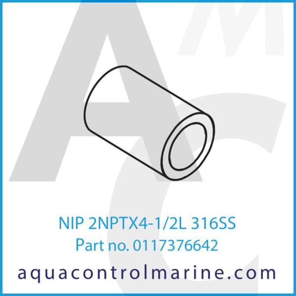 NIP 2NPTX4-1_2L 316SS