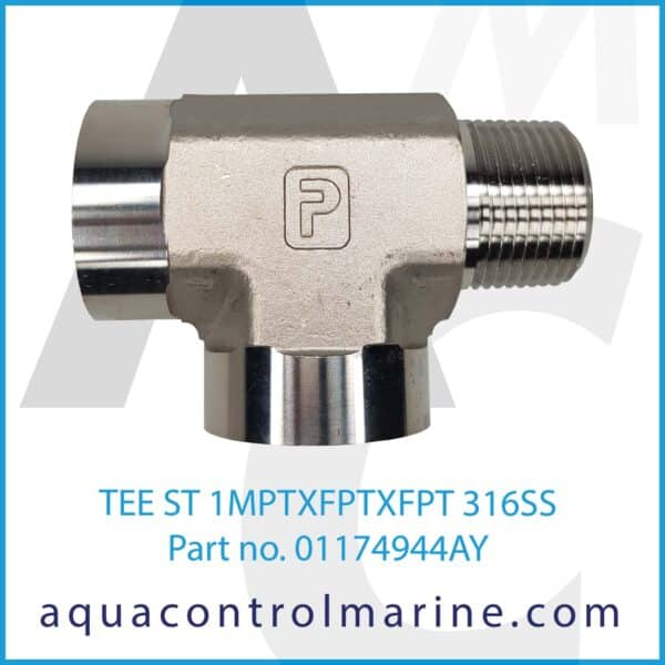 TEE ST 1MPTXFPTXFPT 316SS