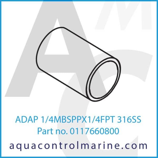 ADAP 1_4MBSPPX1_4FPT 316SS