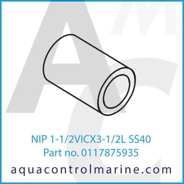 NIP 1-1_2VICX3-1_2L SS40