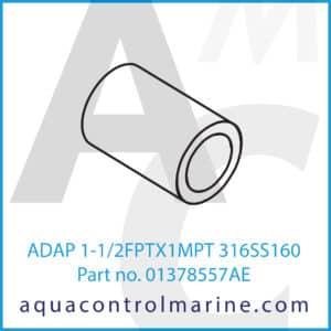 ADAP 1-1_2FPTX1MPT 316SS160