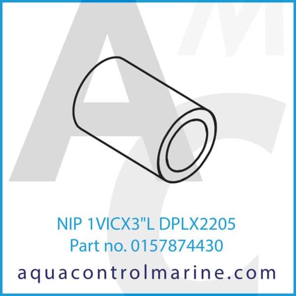 NIP 1VICX3inchL DPLX2205
