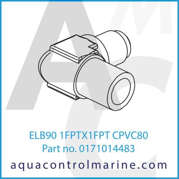 ELB90 1FPTX1FPT CPVC80