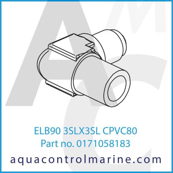 ELB90 3SLX3SL CPVC80