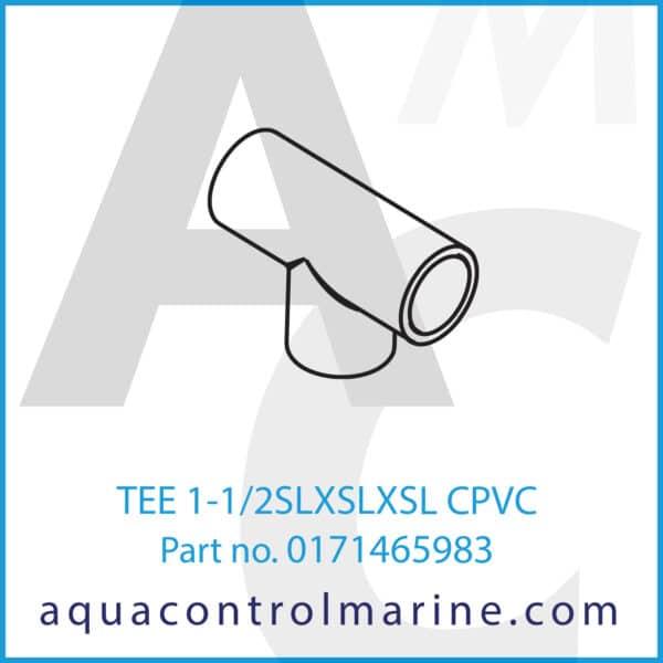 TEE 1-1_2SLXSLXSL CPVC