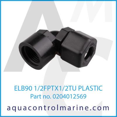 ELB90 1/2FPTX1/2TU PLASTIC