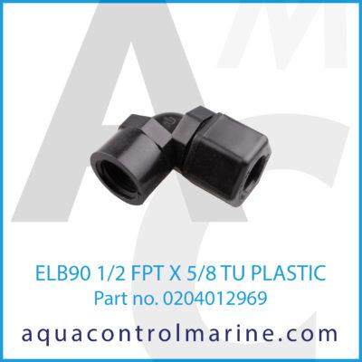ELB90 1/2FPTX5/8TU PLASTIC