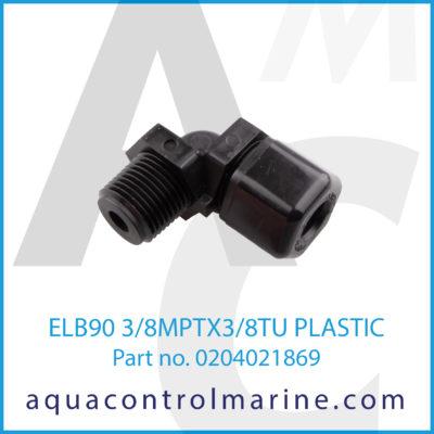 ELB90 3/8MPTX3/8TU PLASTIC