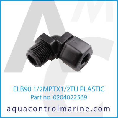 ELB90 1/2MPTX1/2TU PLASTIC