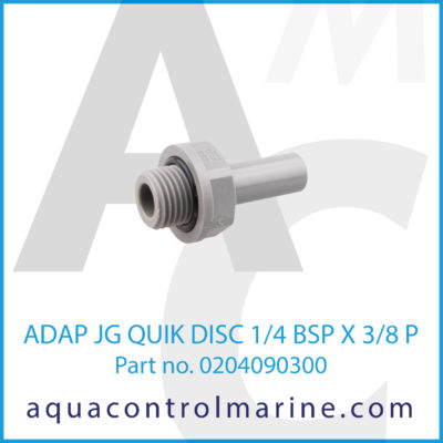 ADAP JG QUIK DISC 1/4BSPX3/8P